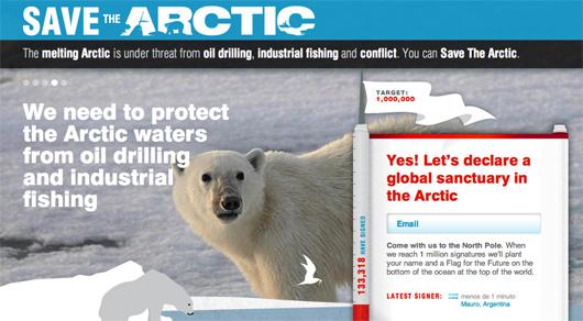 McCartney supports Arctic sanctuary campaign