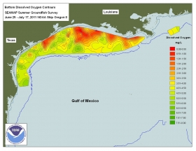 2012 Gulf of Mexico Dead Zone