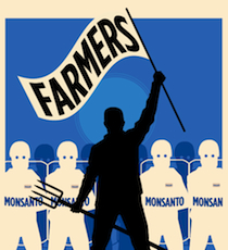 Farmers defend their right to grow food against Monsanto –   Monsanto is a threat to every non-GMO farmer in America