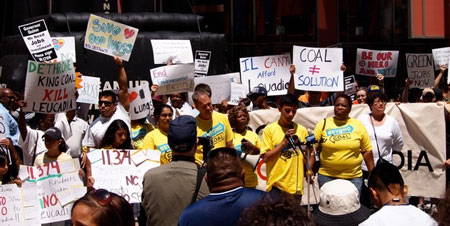 Big Rally Against Proposed New Coal Plant in Chicago