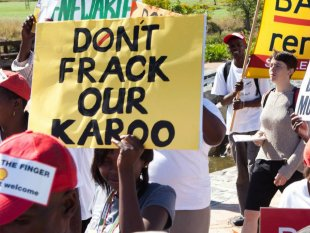 South Africa Lifts Fracking Moratorium