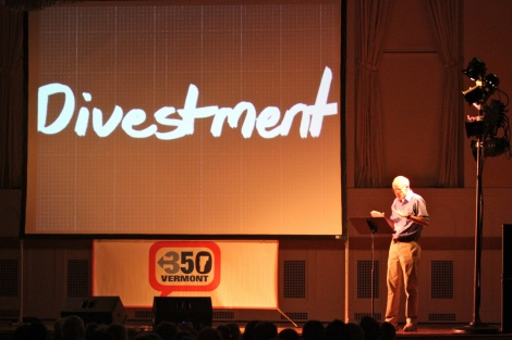 Cue the math: McKibben's roadshow takes aim at Big Oil