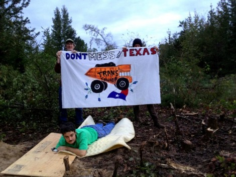 TransCanada protests reveal a bum deal for Texas landowners