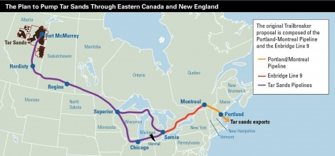 Is ExxonMobil trying to pipe tar-sands oil through New England?