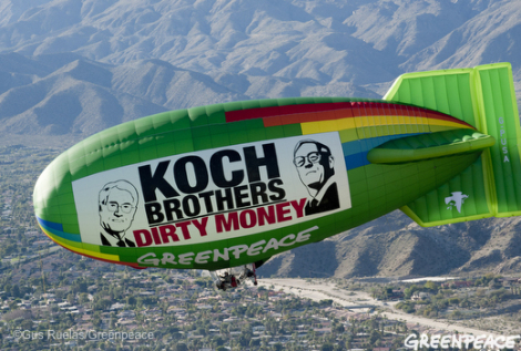 A Koch-allied group aims to make wind energy toxic