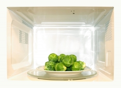 Does microwaving vegetables zap their nutritional value?
