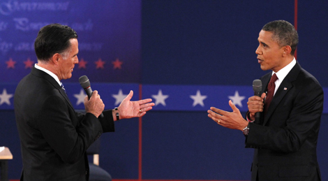 Obama and Romney spar over energy in second debate, ignore climate yet again