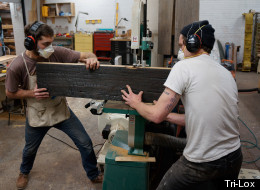 Tri-Lox, Sustainable Furniture Workshop, Salvages Discarded Materials (PHOTOS)