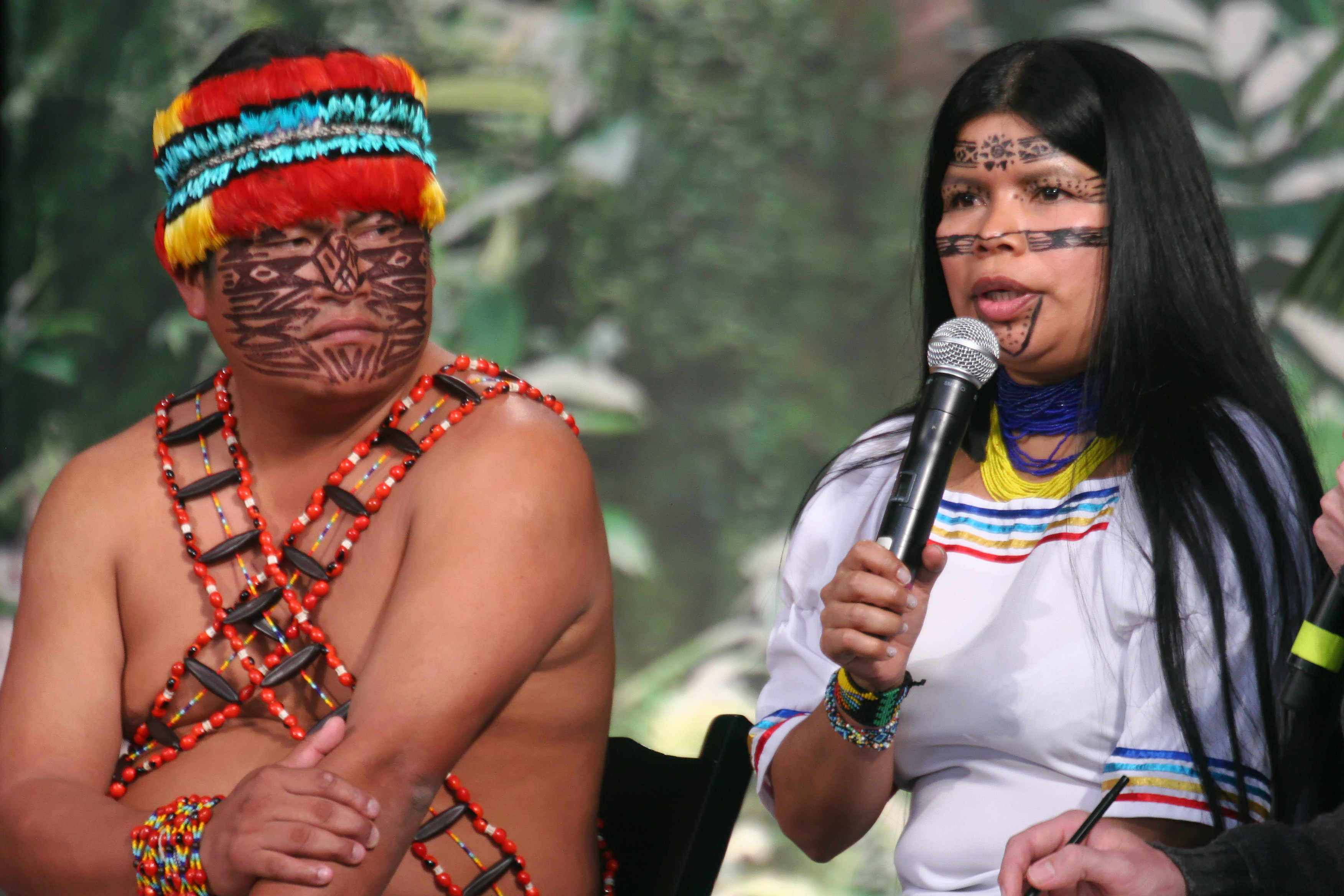 Ecuadorian Indigenous Elders Make Plea to Developed World on 11th Oil Round