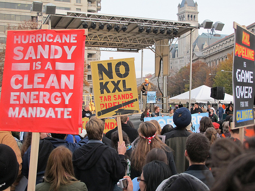 Keystone XL Tar Sands Pipeline Protest Signals a Renewed Fight for Clean Energy