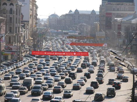 Shades of Los Angeles — Russia had a three-day traffic jam
