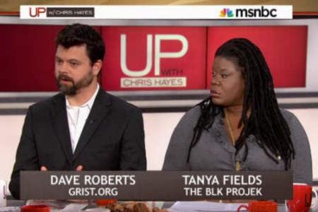 David Roberts talks fracking on MSNBC's 'Up With Chris Hayes'