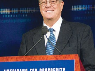 Koch Brothers Political Empire Holds Action on Climate Change Hostage