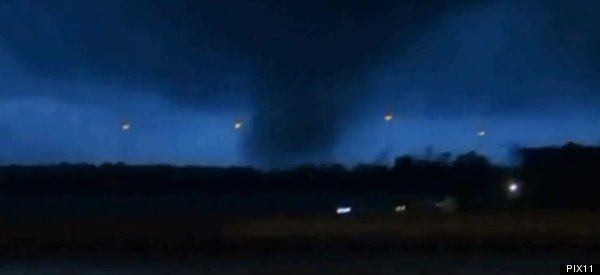 Christmas Tornados By The Dozens (Videos)