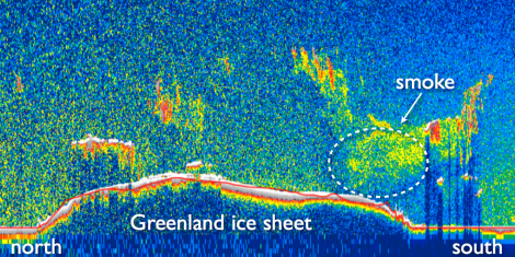 Greenland's 'extraordinary' summer ice melt may have been caused by tundra fires